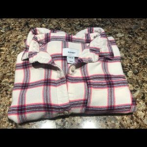 Girls Old Navy Flannel Shirt